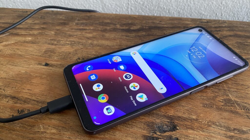 Motorola Moto G Power. Our choice for the best budget smartphone under 500 dollars for battery life in 2021.